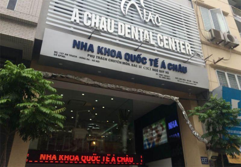 Nha khoa quốc tế Á Châu là địa chỉ làm răng bọc sứ uy tín tại Hà Nội